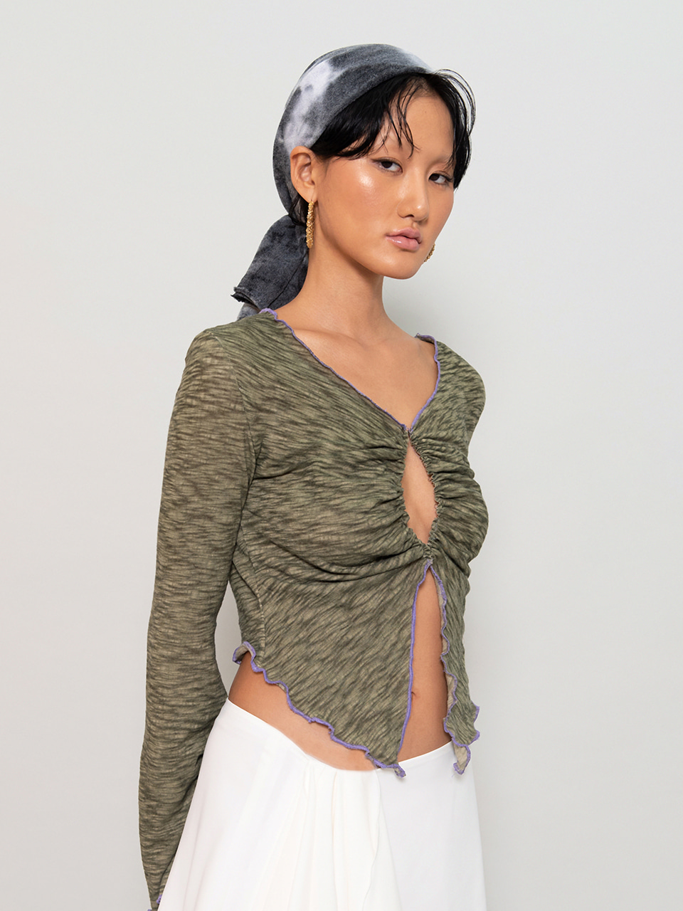3-Way Hook Top OLIVE