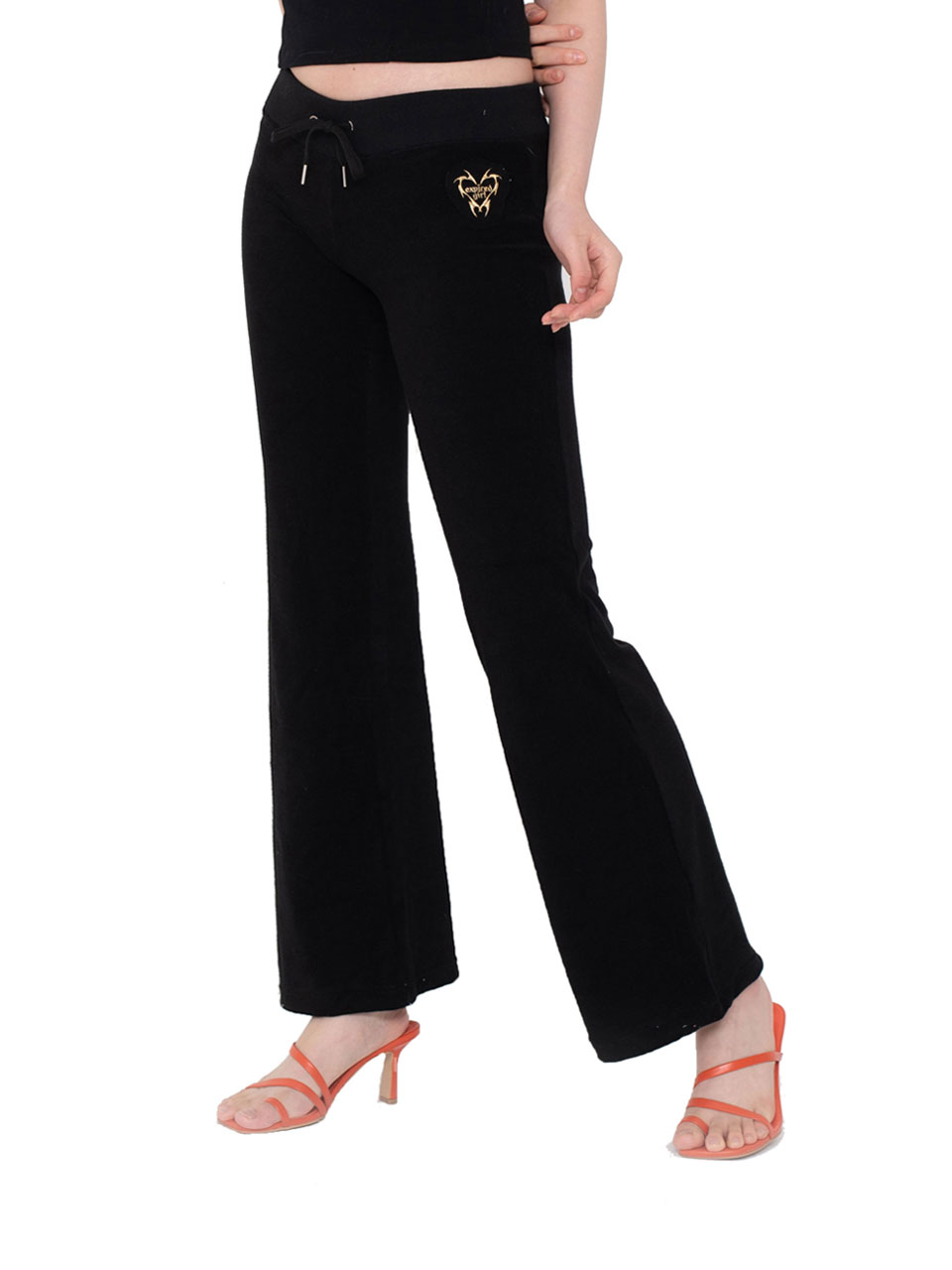 Terry Pants BLACK
